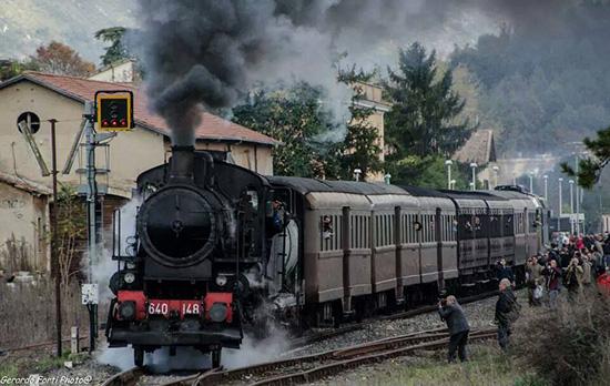 Torna il Treno a Vapore sulla Avezzano-Roccasecca