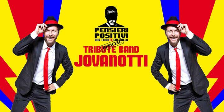 """La Tribute Band Jovanotti """"Pensieri Positivi"""" a Cerchio"""
