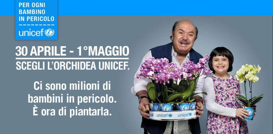 """""""Bambini in pericolo"""", anche nelle piazze marsicane le orchidee dell'UNICEF"""