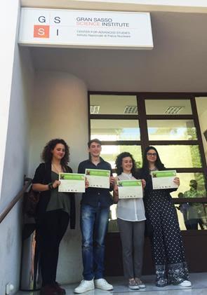 """Il Gran Sasso Science Institute premia gli studenti dell'I.I.S. """"E. Majorana"""""""