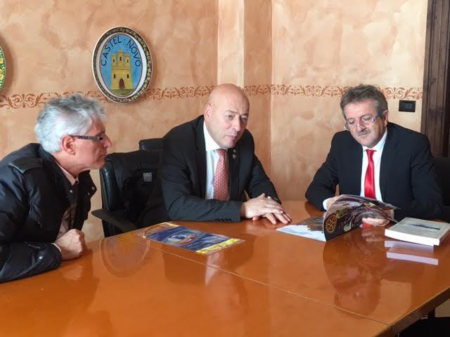 Di Pangrazio incontra il governatore del Rotary Club Paolo Raschiatore