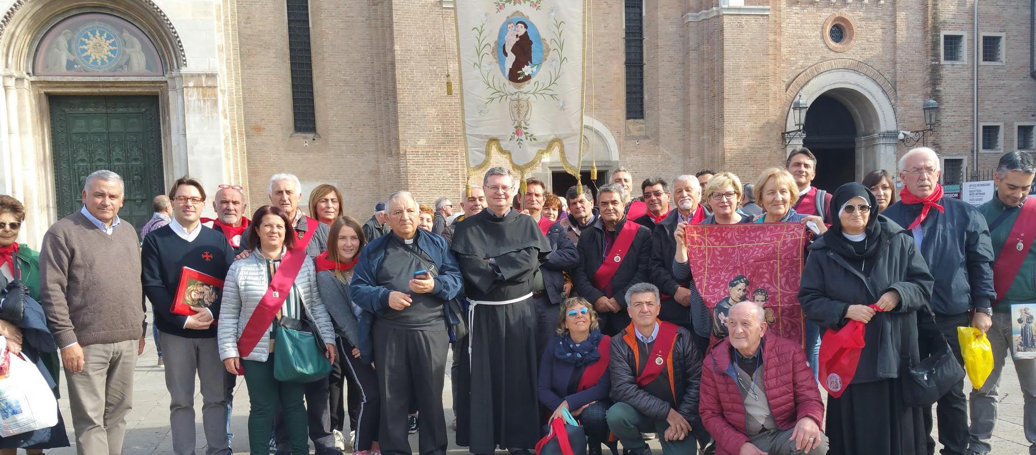 A Padova un incontro di Abruzzesi devoti a Sant'Antonio