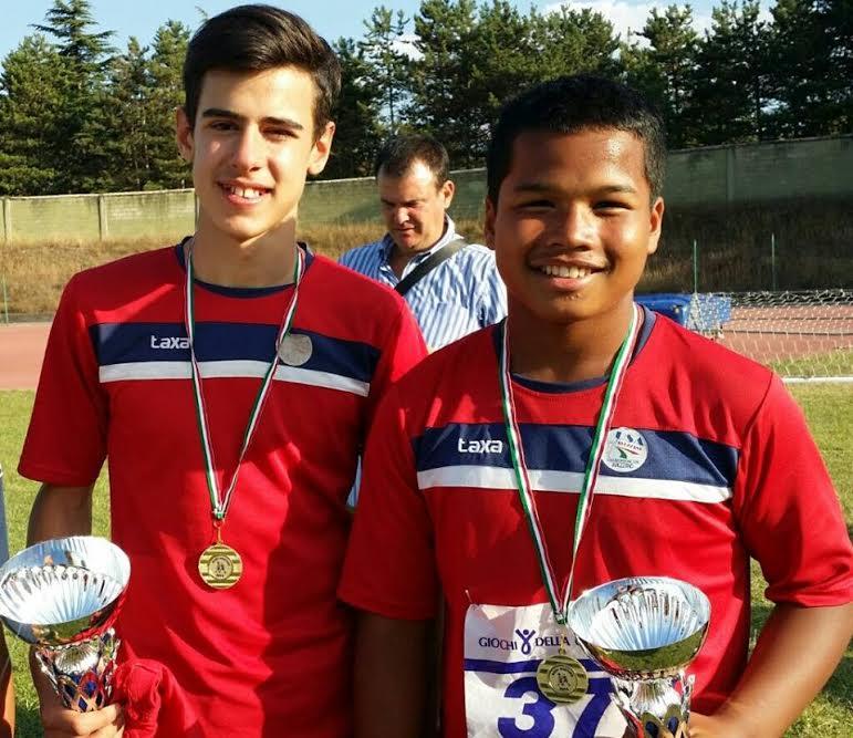 Due giovani atleti dell'USA Runners Avezzano rappresenteranno l'Abruzzo al trofeo CONI
