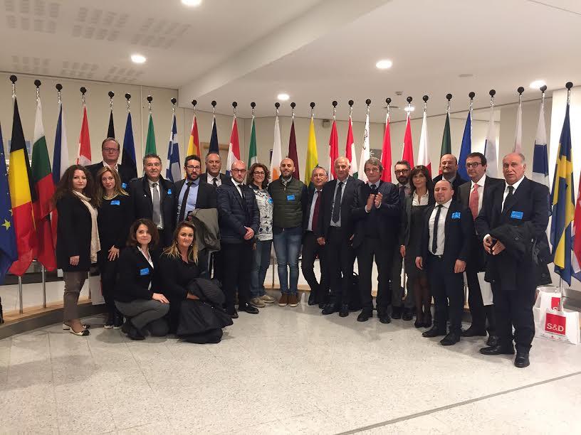Visita dei Rappresentanti dei Comuni Marsicani a Bruxelles