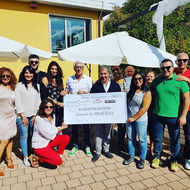 Solidarietà: raccolti 1800 euro per Amatrice