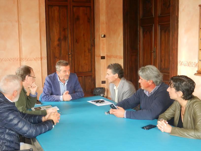 Vesuvius, Di Pangrazio incontra i lavoratori