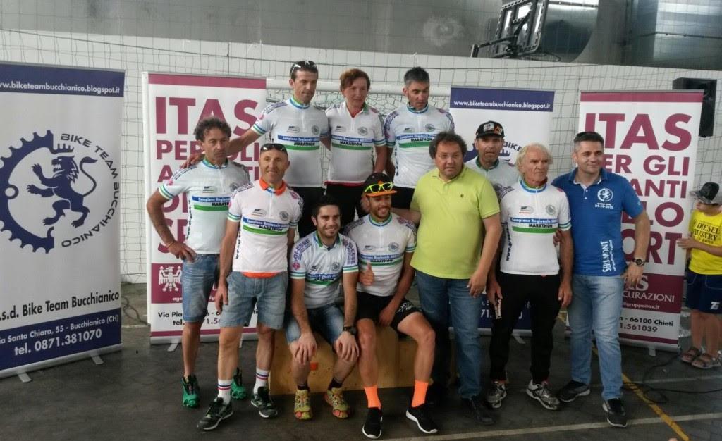 Avezzano Cycling Team, duplice titolo regionale abruzzese marathon per Luigi Sorgi e Stefano Rossi Rossi
