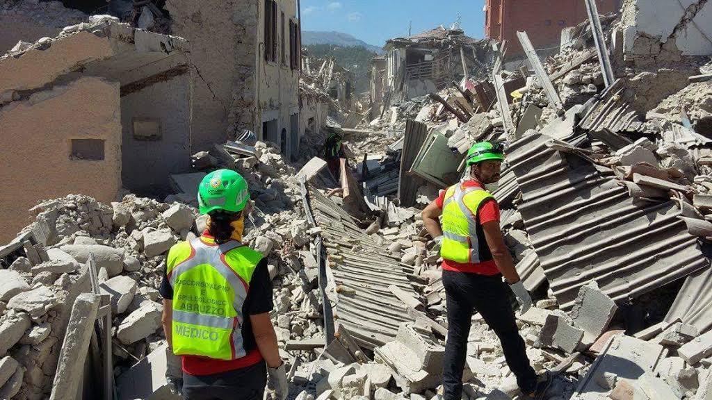 Terremoto: impegnati oltre 100 tecnici CNSAS