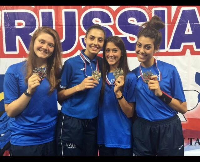 Taekwondo: medaglia d'oro per Natalia D'Angelo