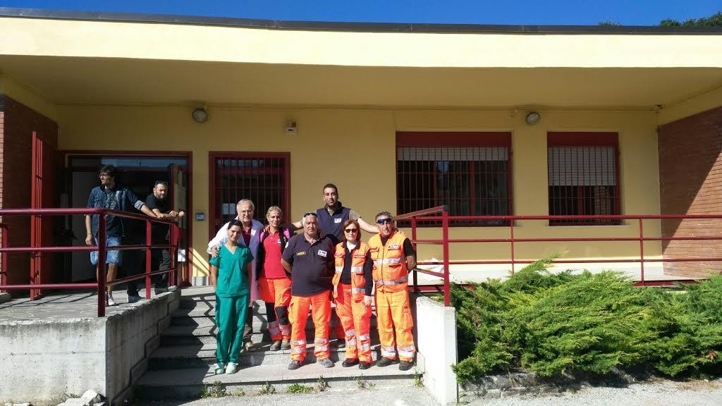 Sisma, 46 feriti all'ospedale dell'Aquila