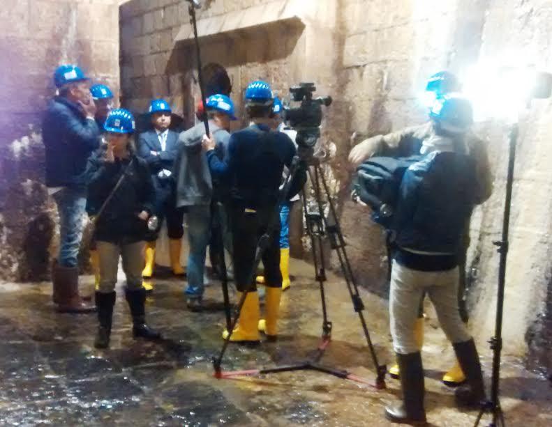 ARTE, Tv franco-tedesca punta i riflettori sui Cunicoli di Claudio