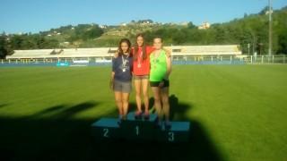 Ottimi risultati per la giovane atleta Valeria Buongiovanni al campionato di Prove Multiple