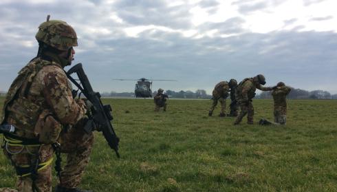 Esercito Italiano - Concorso per il reclutamento di VFP4 interforze – 1^ immissione anno 2017