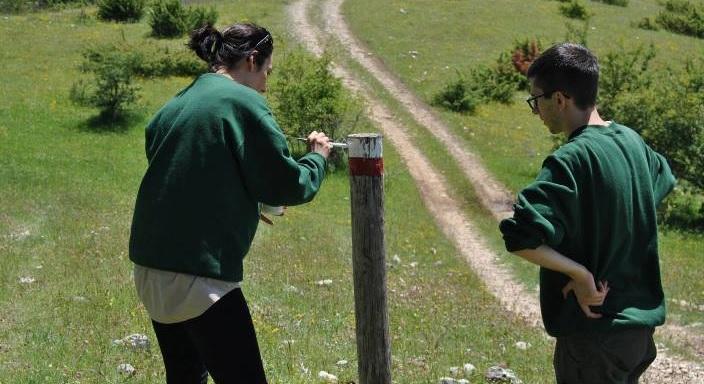 Un'esperienza di servizio civile per 12 giovani volontari nel Parco Nazionale d'Abruzzo, Lazio e Molise