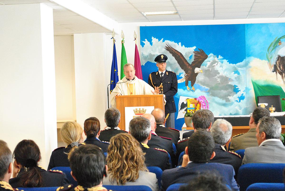 La Polizia Di Stato rende omaggio a San Michele Arcangelo