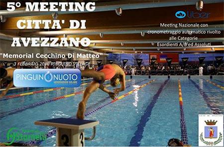 """5° Meeting Città di Avezzano """"Memorial Cecchino Di Matteo"""""""