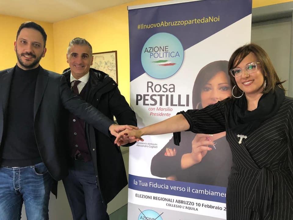 Regionali: Rosa Pestilli e Gianluca Zelli (AP) in visita nelle aziende della Marsica