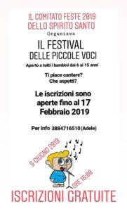 """Arriva ad Avezzano il """"Festival delle Piccole Voci"""" evento canoro aperto ai giovani marsicani"""