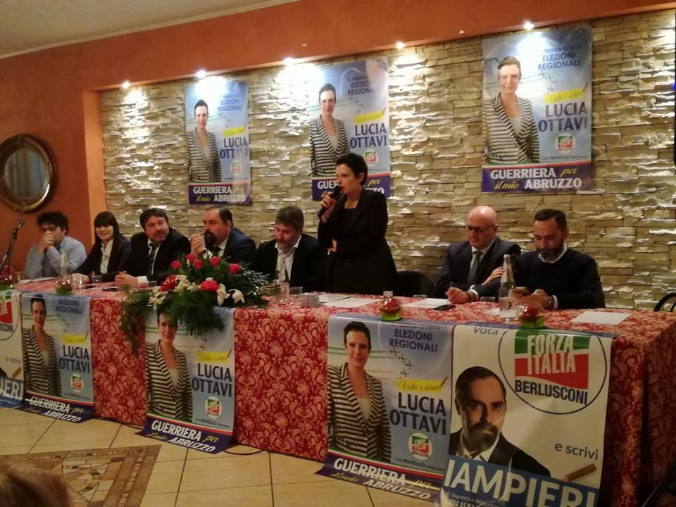 """Lucia Ottavi, """"guerriera per il mio Abruzzo"""" presenta la sua candidatura"""