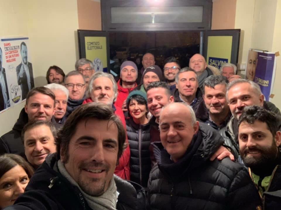 Angelosante incontra a Celano l'onorevole Cantalamessa, partecipazione all'incontro pubblico di Ortucchio