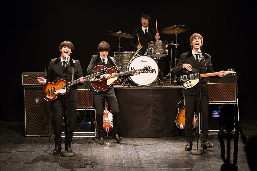 Arrivano al Teatro Dei Marsi i Beatles italiani