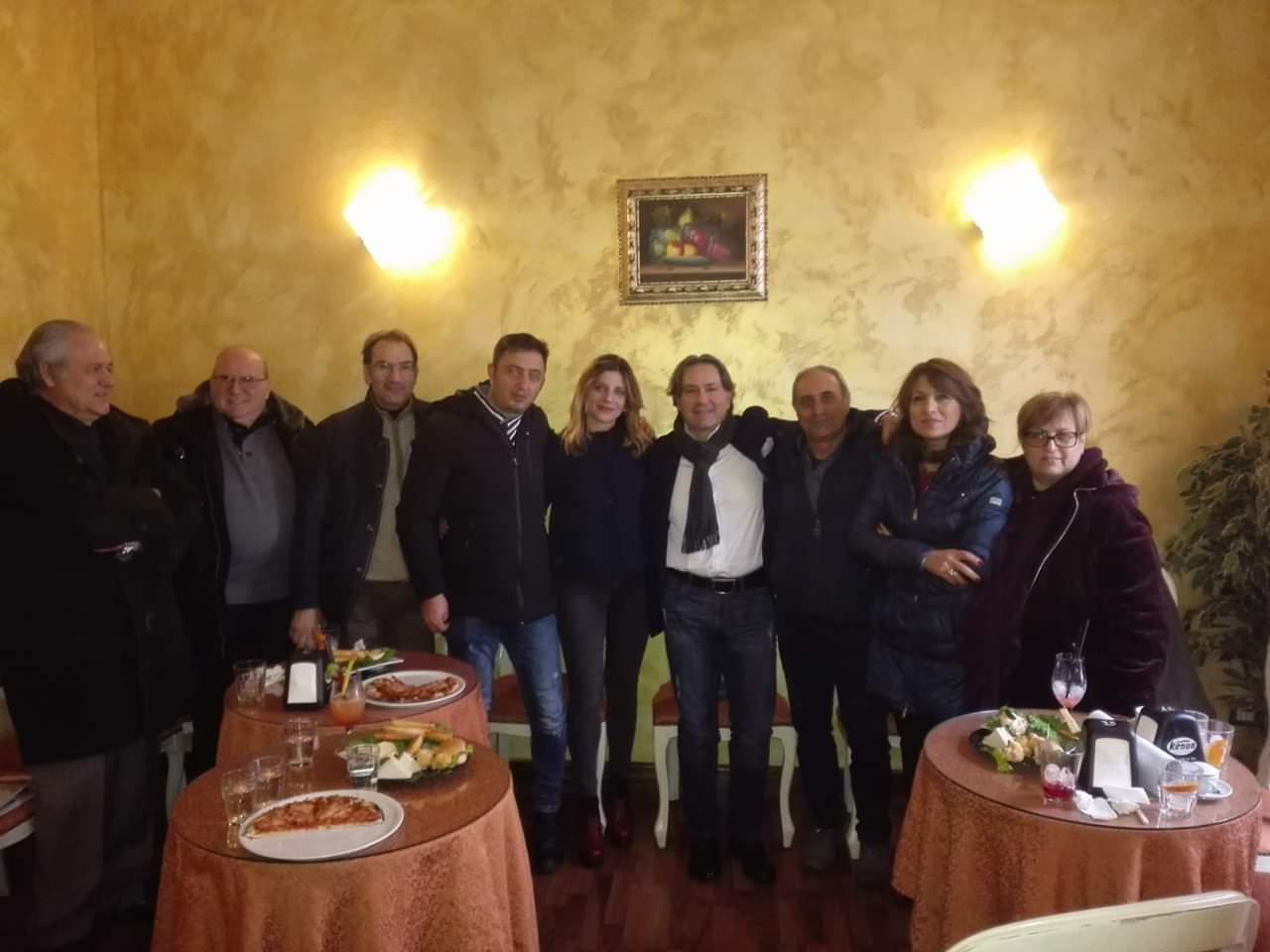 Maria Saladino incontra gli amici simpatizzanti della Marsica
