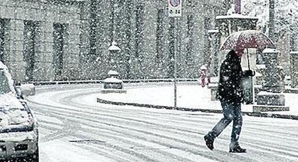 Marsica. Piogge e successiva irruzione artica e neve dal Rodano
