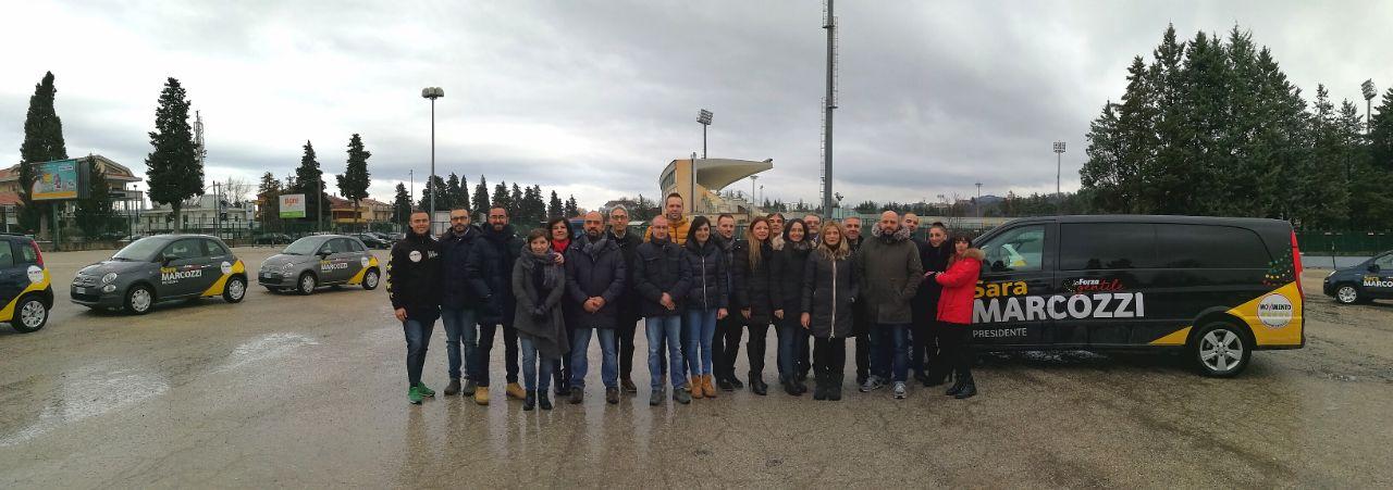 """Al via il tour del del Movimento 5 Stelle in Abruzzo. Marcozzi """"raggiungeremo ogni territorio"""""""