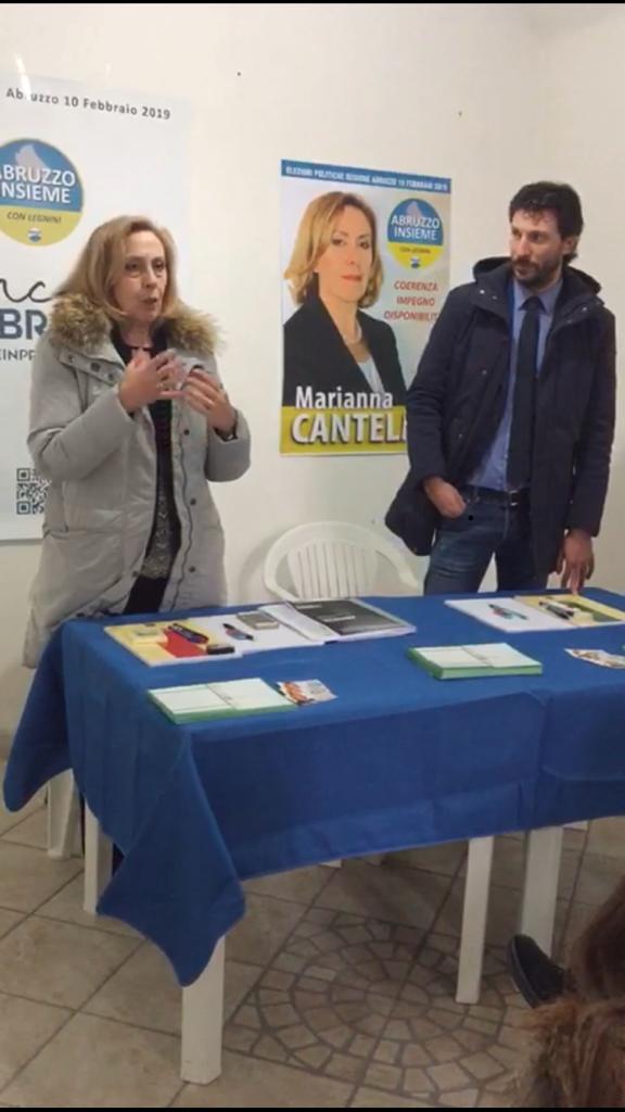 Inaugurata la sede elettorale di Celano della candidata Marianna Cantelmi