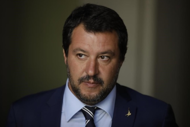 Matteo Salvini ad Avezzano
