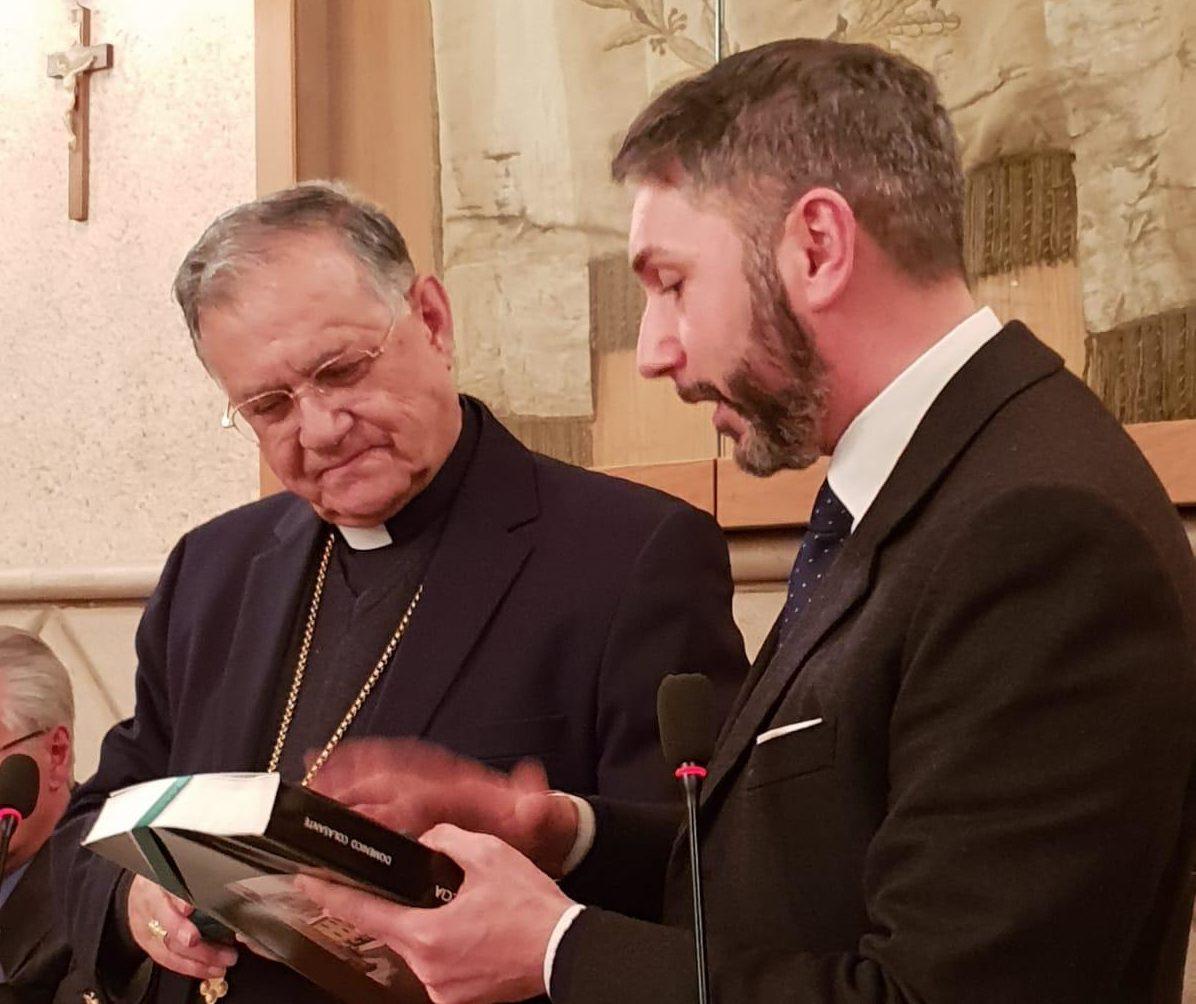 Fouad Twal, patriarca di Gerusalemme, ha raccontato a Tagliacozzo la sua esperienza di mediatore di pace