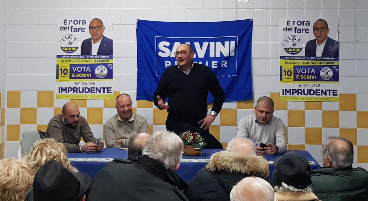 Lega, Emanuele Imprudente: inaugurato comitato elettorale ad Avezzano
