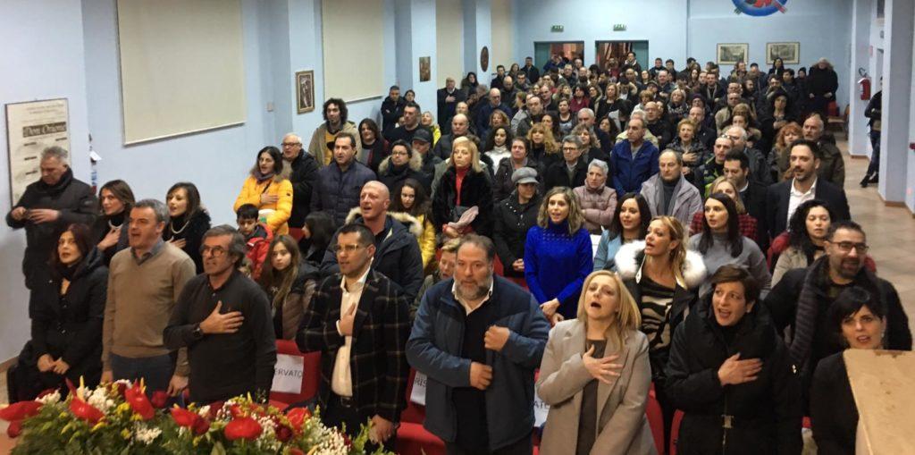"""Pubblico delle grandi occasioni ad Avezzano per Rosa Pestilli: """"presentato il programma e le nuove opportunità per la Marsica"""""""