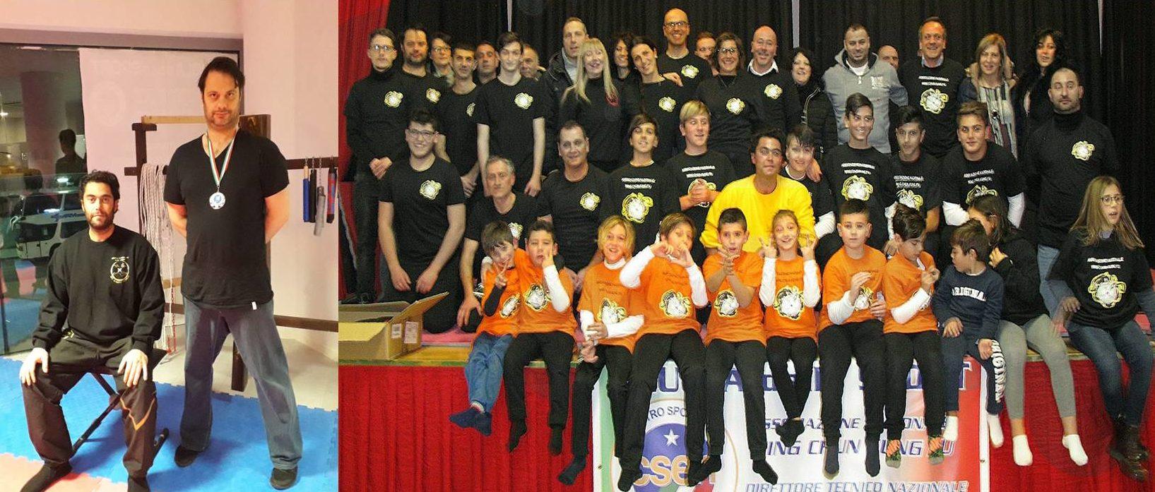 Campionati italiani di kung fu, ad Anagni medaglia d'argento ad un avezzanese