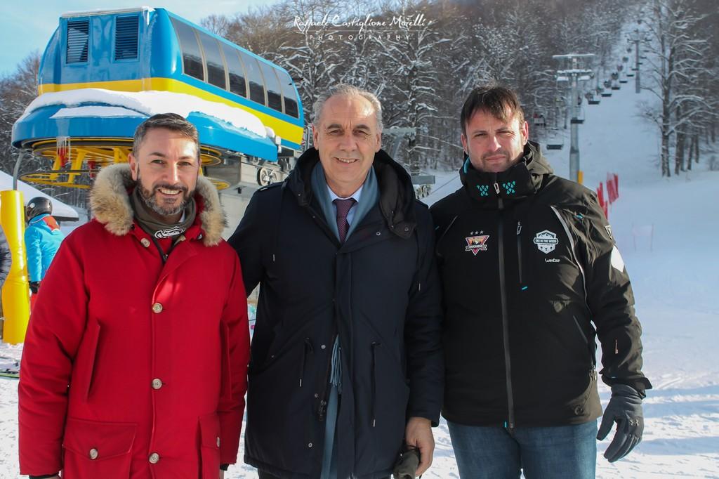 Gran successo per l'inaugurazione degli impianti di Camporotondo, in migliaia nel weekend a provare le nuove piste da sci