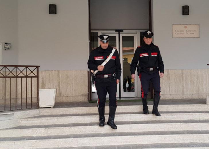 """""""Beccati"""" due avezzanesi dopo un furto nella sede INAIL"""