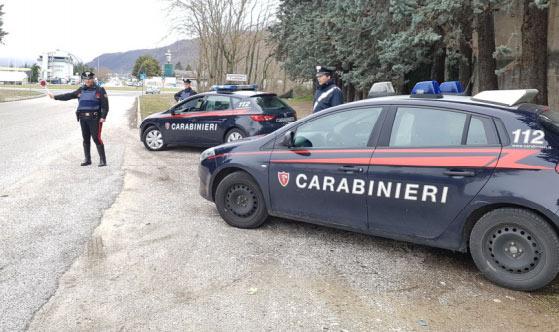 Carabinieri arrestano cittadino marocchino mentre spacciava cocaina in pieno centro
