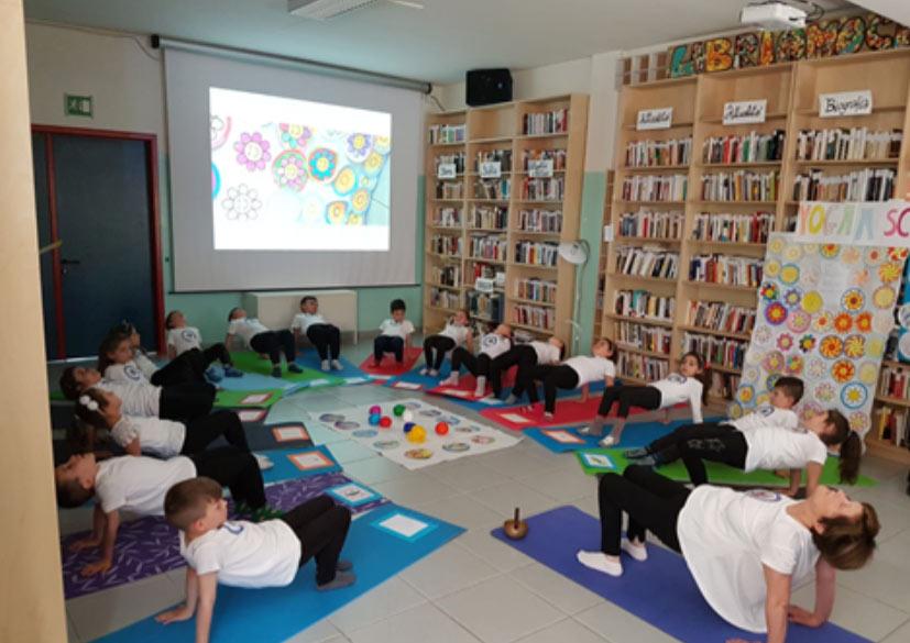 Yoga a scuola, prosecuzione del progetto Yoga nella scuola primaria