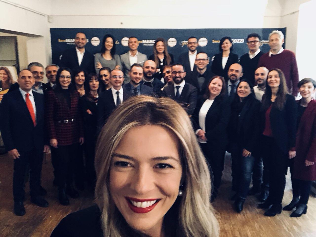 Sara Marcozzi presenta la squadra del M5s con cui realizzerà il programma per l'Abruzzo