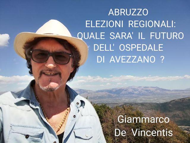 """Lettera aperta di un malato di cancro ai candidati delle regionali, """"cosa intendete fare per l'Ospedale di Avezzano?"""