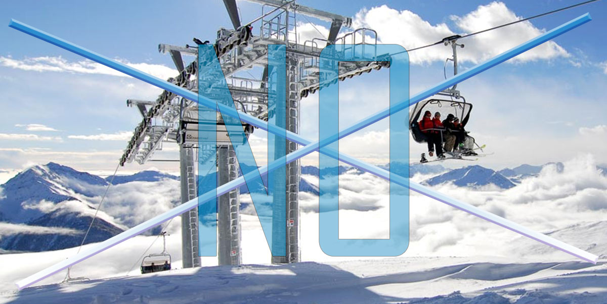 """""""Scempio nel Parco del Sirente per i nuovi impianti da sci"""" - immediata presa di posizione del Ministero dell'Ambiente che scrive alla regione ricordando gli obblighi comunitari di tutela."""
