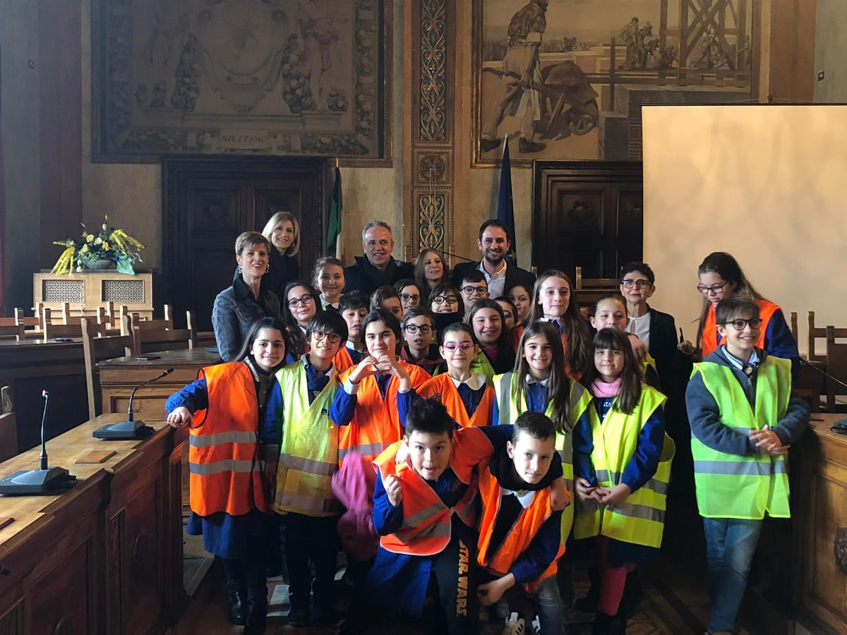 Piedibus, per una classe della scuola Don Bosco il progetto è realtà