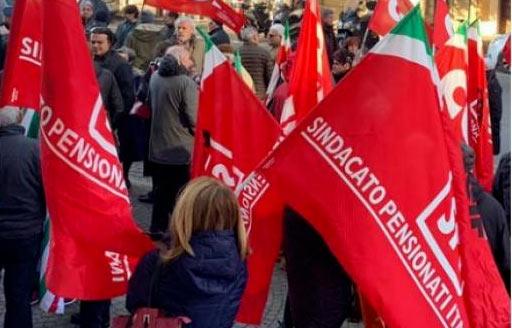 Domani protesta dei Sindacati dei Pensionati contro la manovra del Governo