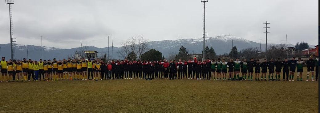 Rugby: l'avezzano perde all'ultima azione ma prende un punto, la 18 esce sconfitta contro la Roma Legio Invicta
