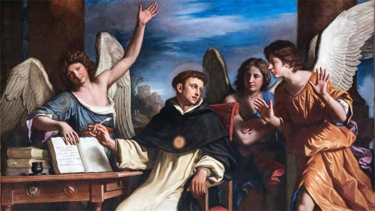 Festa di san Tommaso d'Aquino con gli studenti delle superiori di Avezzano