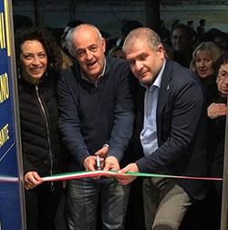 Inaugurata la sede avezzanese del candidato Simone Angelosante: credete nella nostra voglia di far rinascere l'Abruzzo e la Marsica