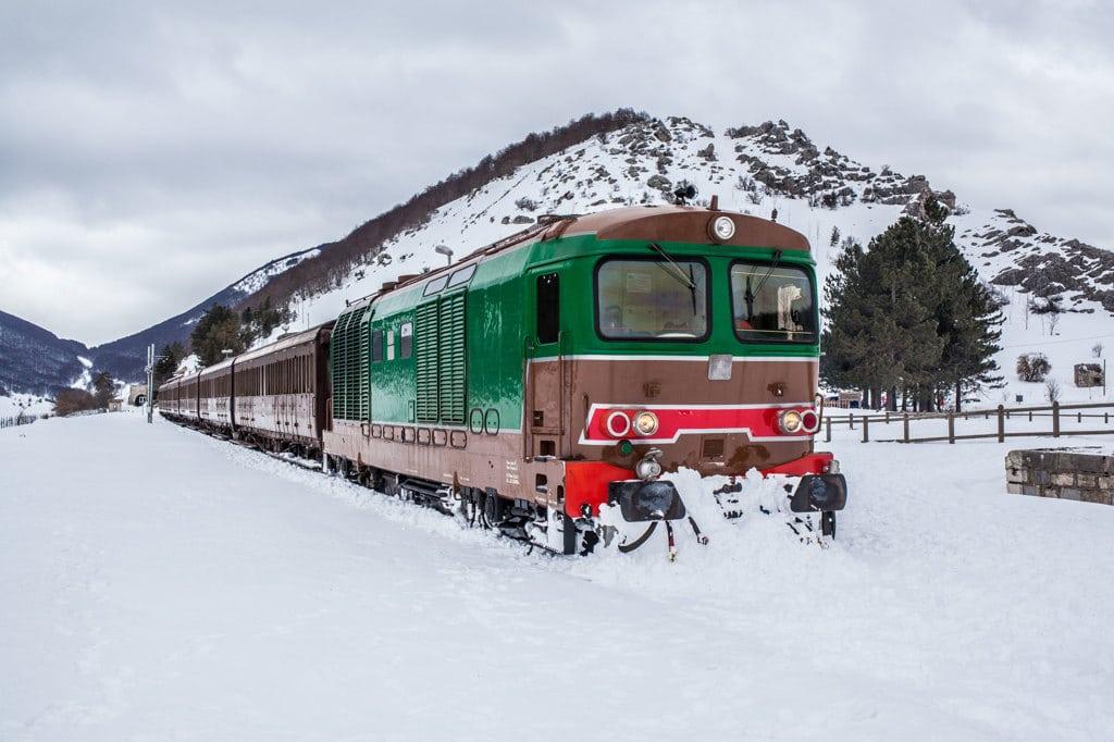 Partenze anche da Avezzano per il Treno della Neve