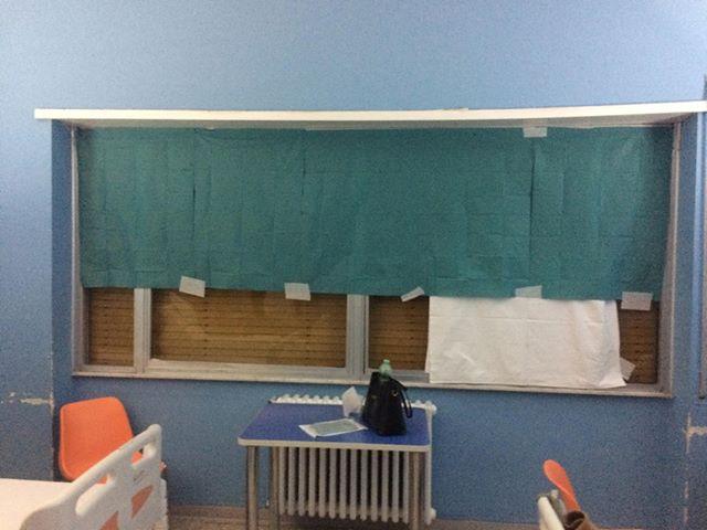 Finestra rotta all ospedale di avezzano le lamentele dei pazienti terre marsicane la voce - La finestra rotta ...