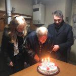 A Villa San Sebastiano i 100 anni di Annito Pensa tra ricordi e barzellette