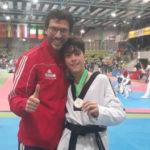 Il Centro Taekwondo Celano conquista una prestigiosa medaglia d'Argento in Europa con Francesco Scamolla